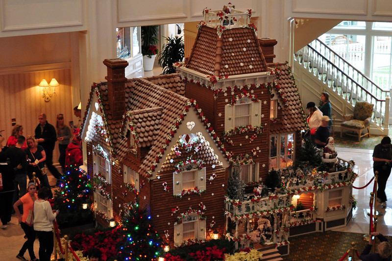 Gingerbread House at the Grand Floridian.