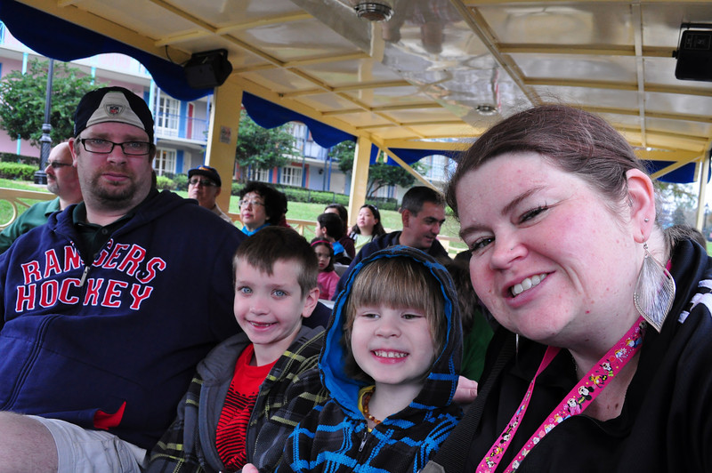 On the boat headed to DTD.