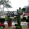 Topiary on the backlot tour.