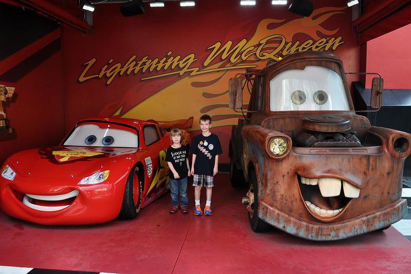 Lightning & Mater!!