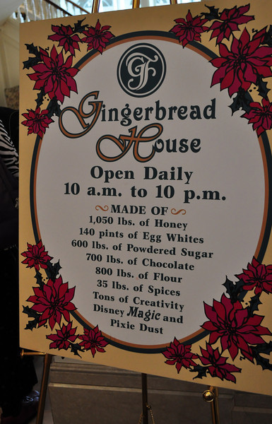 Grand Floridian Gingerbread House, actually is a store that sells candy.
