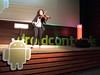 Droidcon Tunis opened with a violin performance. Classy!