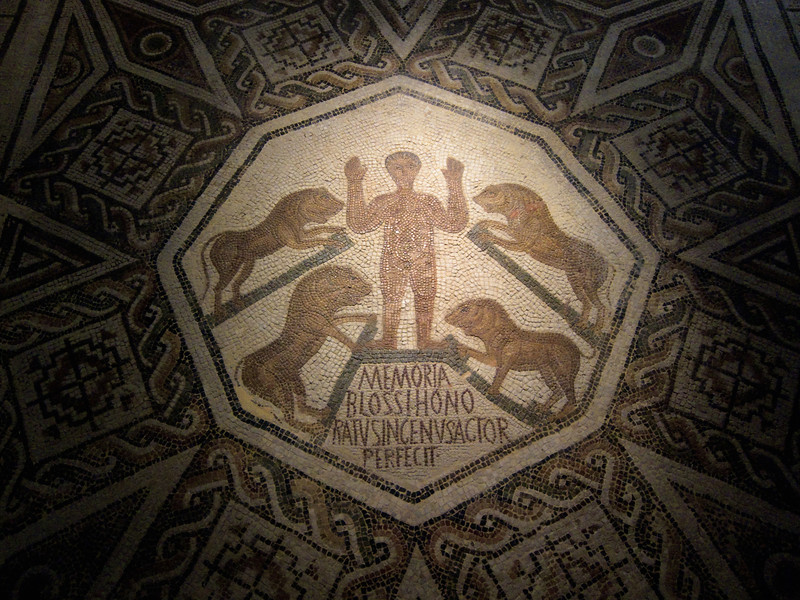 Roman mosaic at the Bardo Museum