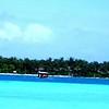 View of the beautiful Rangali Bay