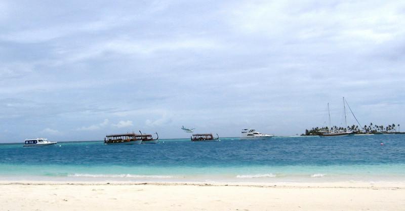 The Dhoni fleet at the Conrad