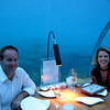 Audra & Matt before dining under the sea
