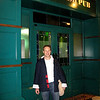Our only picture from Dubai - Matt in front of the Irish Pub there - figures!