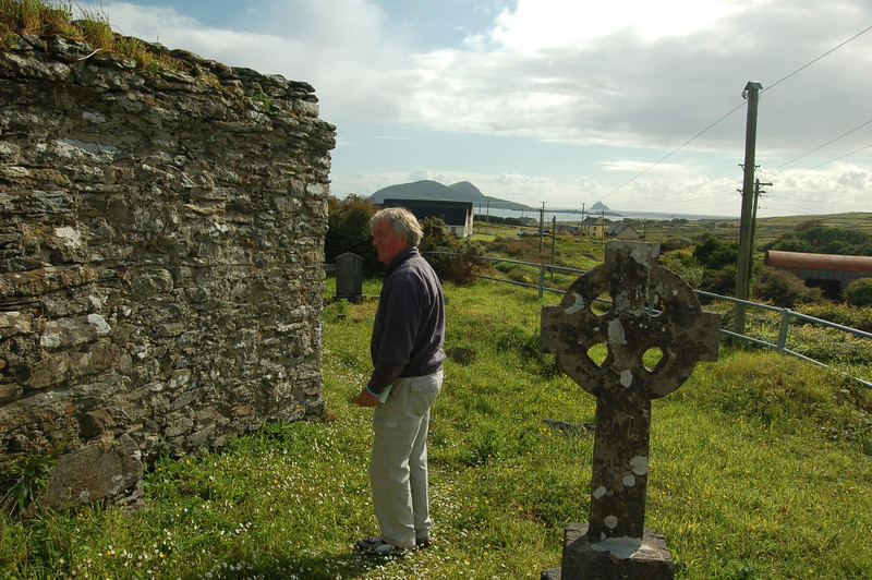 Burial site (exact spot) of my brother Seamus Moran (1933-1941), located at the Old Dunquin Cemetery, Dunquin Dingle,  County Kerry Ireland