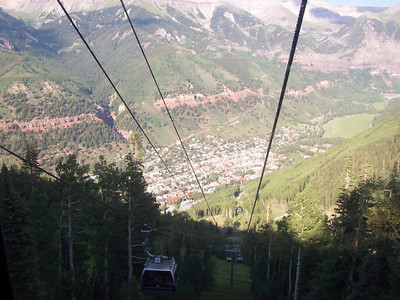 The town of Telluride.