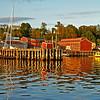 Red Shore: Lunenburg, Nova Scotia
