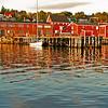 Wharf View: Lunenburg, Nova Scotia, Canada