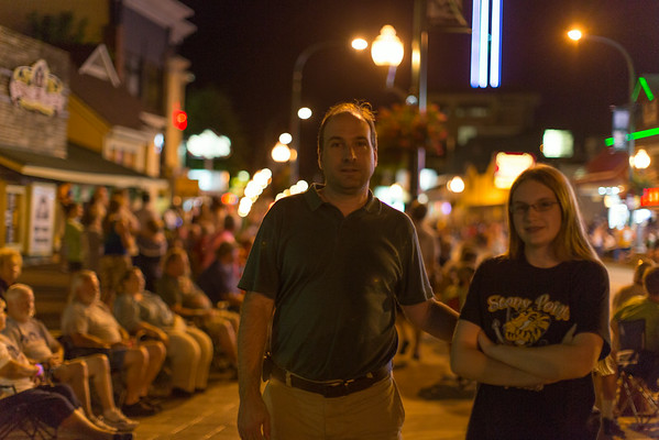 Midnight 4th of July Parade in Gatlinburg