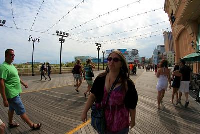 Atlantic City, NJ. I forget why she's frowny.