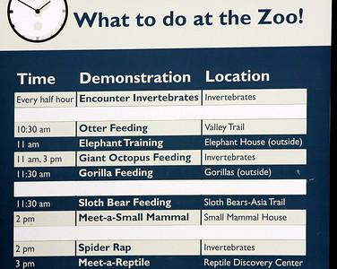 National Zoo, Washington, D.C. The National Zoo
