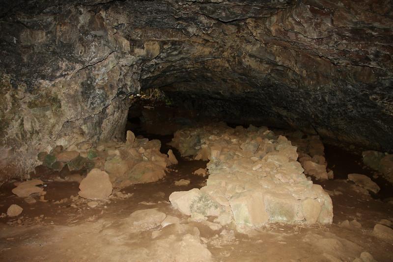 Inside of Ana Pahu cave.