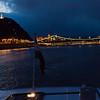 looking down the Danube