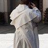 priest on a cell phone