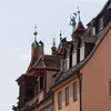 the rooftops of Nuremberg