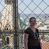 me at the top of the cathedral