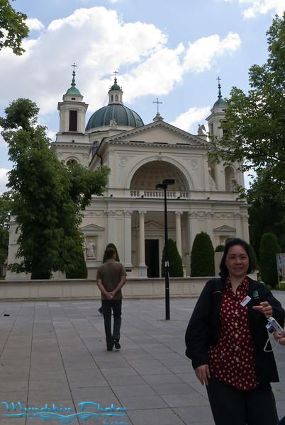 Church near palace