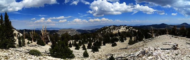 Looking east towards Nevada.