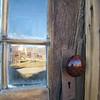 Reflection with doorknob