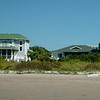 Our house view (on the right) from the beach