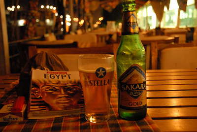 Sakara Beer, the one and only Egyptian Beer ...