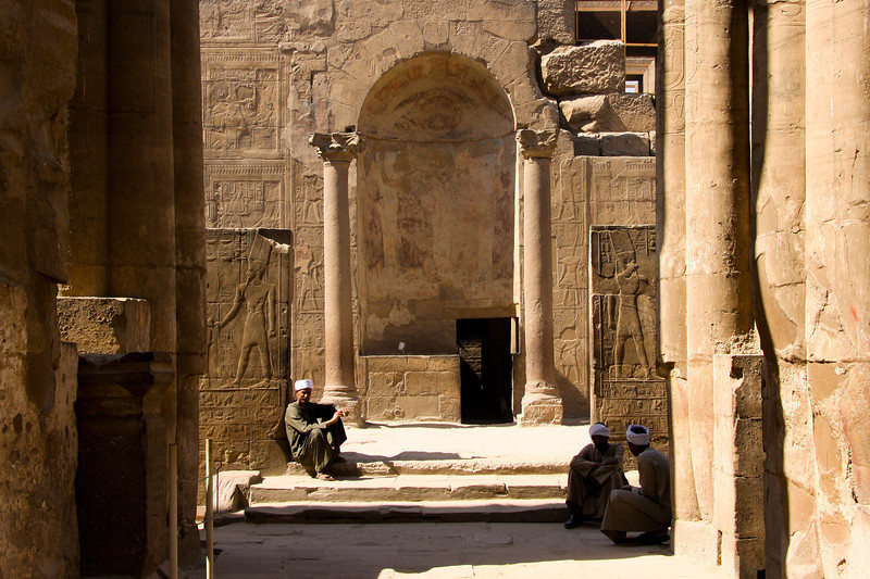 Roman Shrine at Luxor Temple