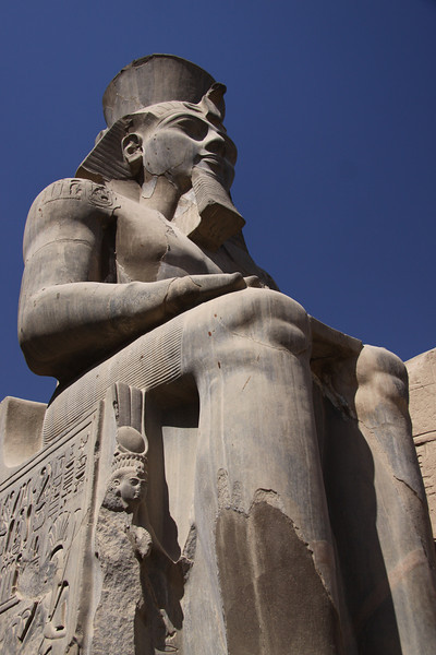 Ramses II Statue at Luxor