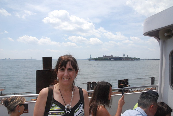Ellis Island and Statue of Liberty July 2016