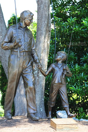 Andy Griffith Statue Mount Airy N.C.