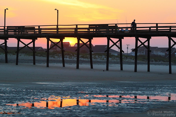Sunrise Behind Oceanana Pier