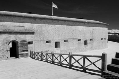 Fort Macon, Infrared