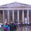 outside British Museum.