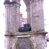 Well's center fountain