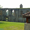 Ruins of Glastonbury Abbey.