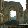 The abbey was demolished by Henery the VIII