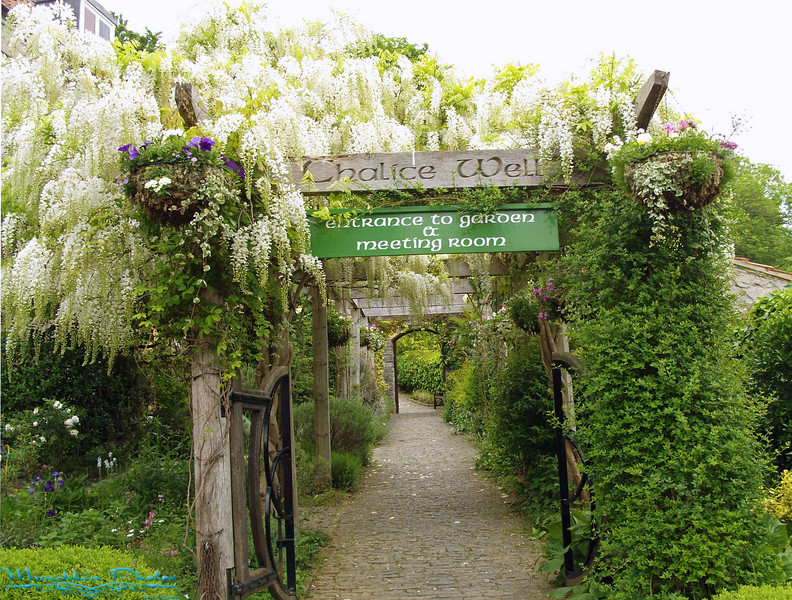 Entrance to Chalice Well and Gardens