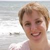 Sarah on Looe Beach