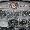 Rear cockpit of the Fallon Gnat.