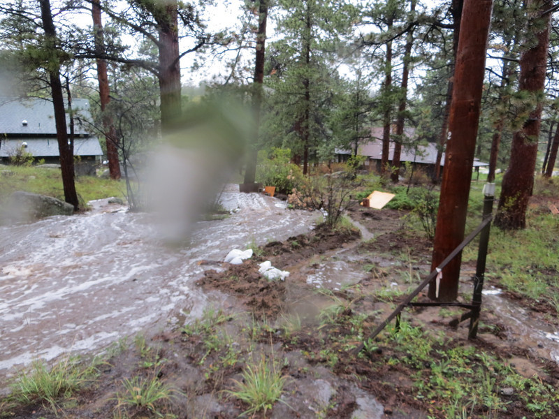 08:57 By now, we've built up sandbag and dirt levees along the south creek  and ...