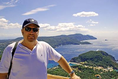 Wes in Corfu