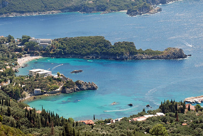 Another beautiful bay in Corfu near Palaeokastritsa