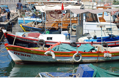 Fishing Boats at Kusadasi, Turkey