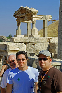 Bill, Brett, and Wes in Ephesus