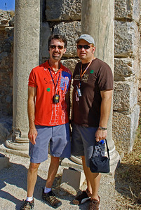 Jerry and Wes in Ephesus