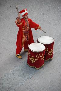 Main drummer of Turkisk band