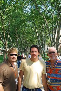 Wes, Brett, and  Bill at Topkapi Sarayi in Istanbul