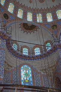 Stained Glass Windows of The Blue Mosque